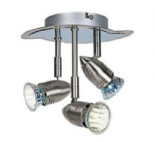 Brushed Chrome Norte Minidrop Spot Light No Bulbs Included New Kitchen Bathroom